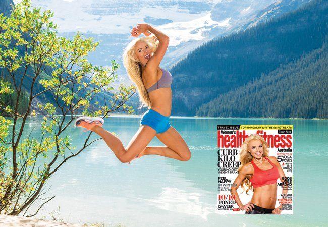 Les secrets du modèle de couverture de Holly Barker