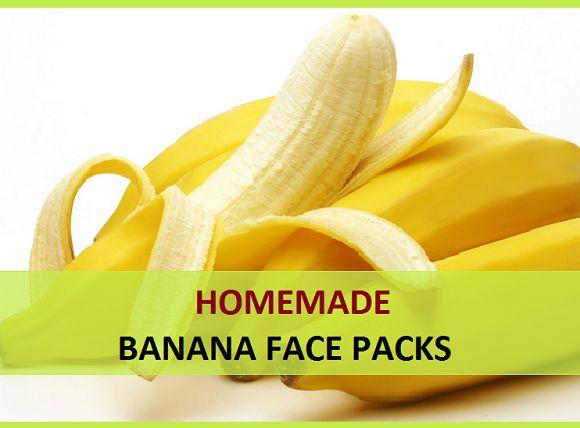 Packs visage banane maison pour la peau sèche, éclat de la peau et de l`équité
