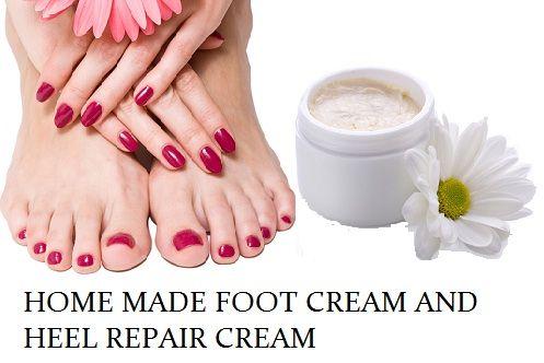 Crème maison pieds, recette de crème de réparation talon