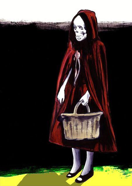 Comment être petit chaperon mort pour Halloween?