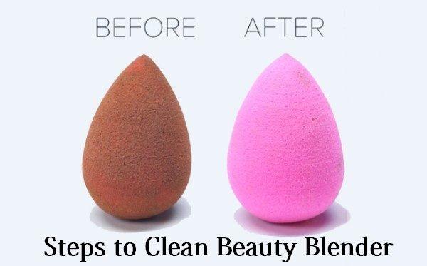 Comment nettoyer un mélangeur de beauté?