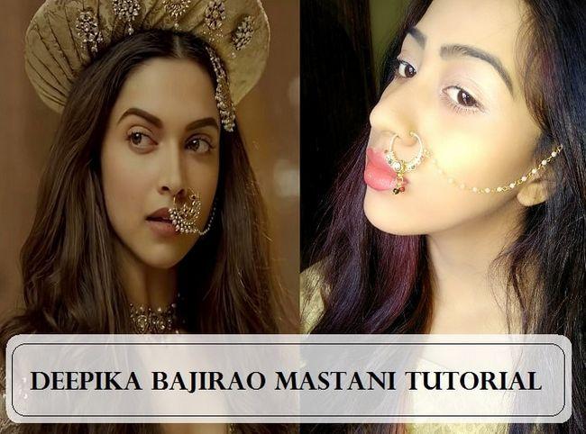 Comment: deepika padukone Bajirao tutoriel maquillage Mastani
