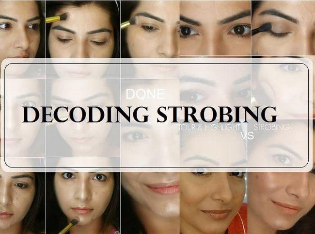 Comment: tutoriel stroboscopique diy maquillage surligneur sur la peau indienne