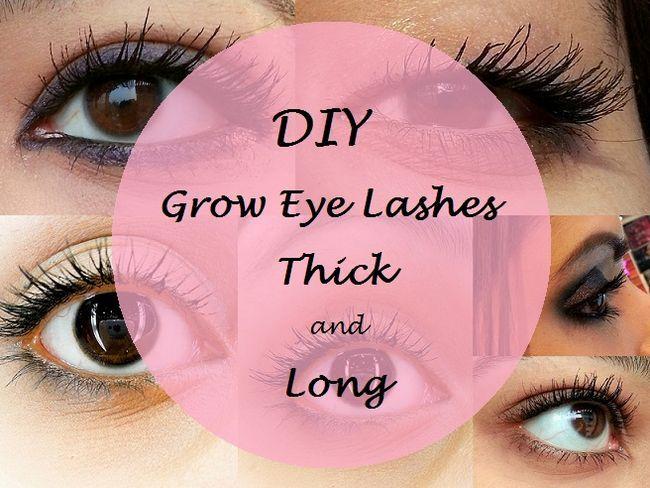 Comment faire pousser les cils plus longs et les yeux plus épais rapide: remèdes maison diy