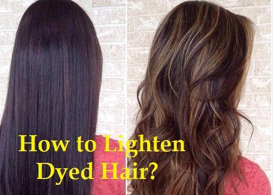 Comment éclaircir les cheveux teints?