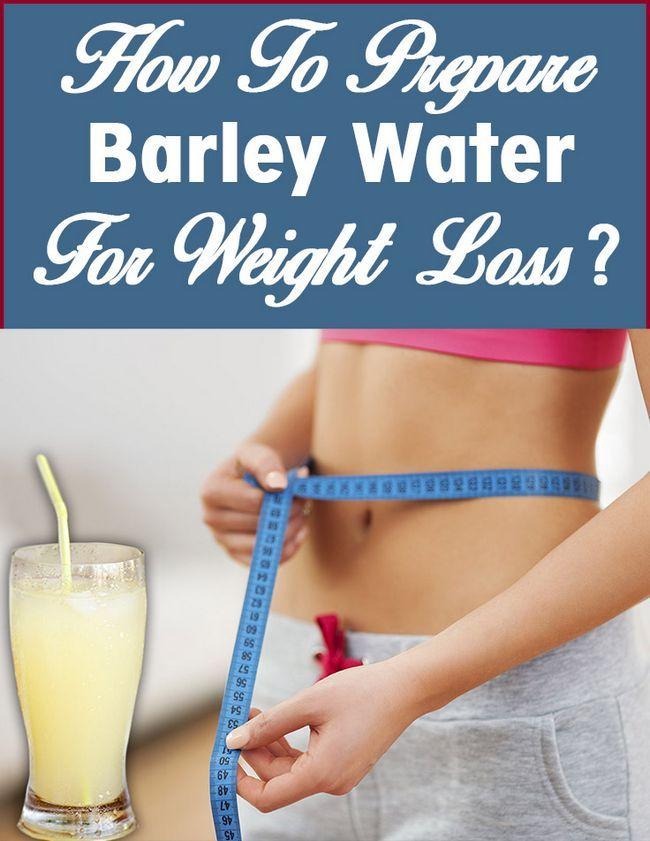 Comment préparer l`eau de l`orge pour la perte de poids?