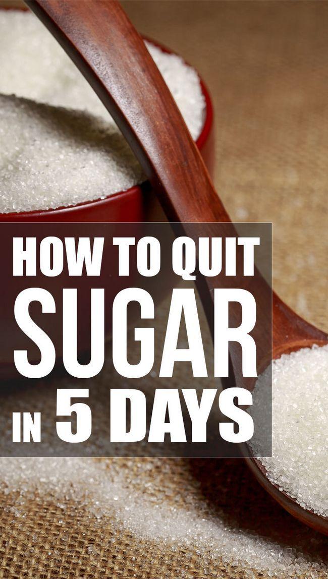 Comment arrêter le sucre en 5 jours (régime alimentaire)