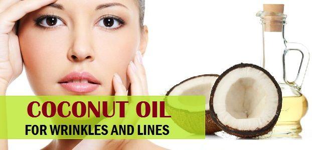 Comment utiliser l`huile de noix de coco pour les rides, les ridules sur le visage sec