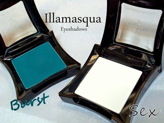 ILLAMASQUA sex examen des ombres à paupières, nuanciers + 6 façons d`utiliser un fard à paupières blanc mat