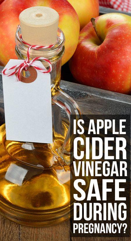 Est le vinaigre de cidre de pomme (seb ka sirka) en toute sécurité pendant la grossesse