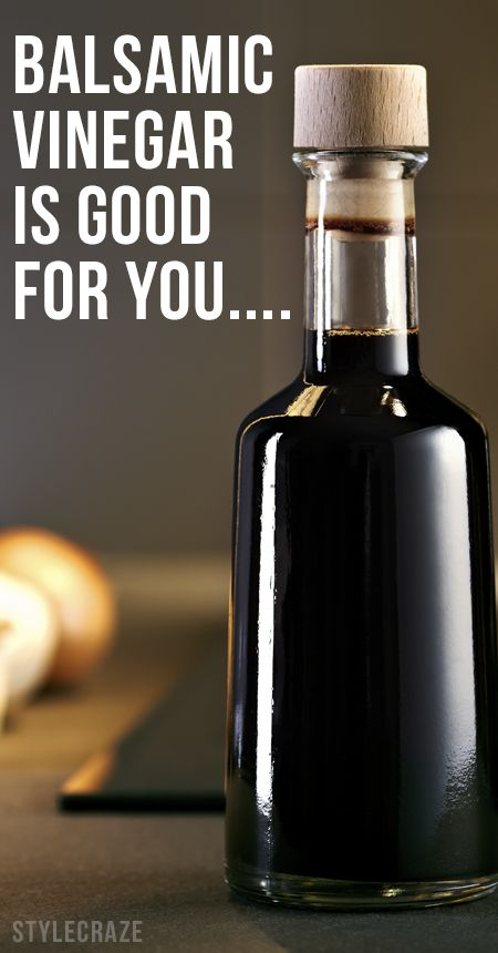Est-il bon vinaigre balsamique pour vous?