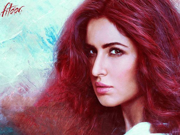 Look film Katrina kaif de fitoor décodé: costumes, maquillage, cheveux rouges