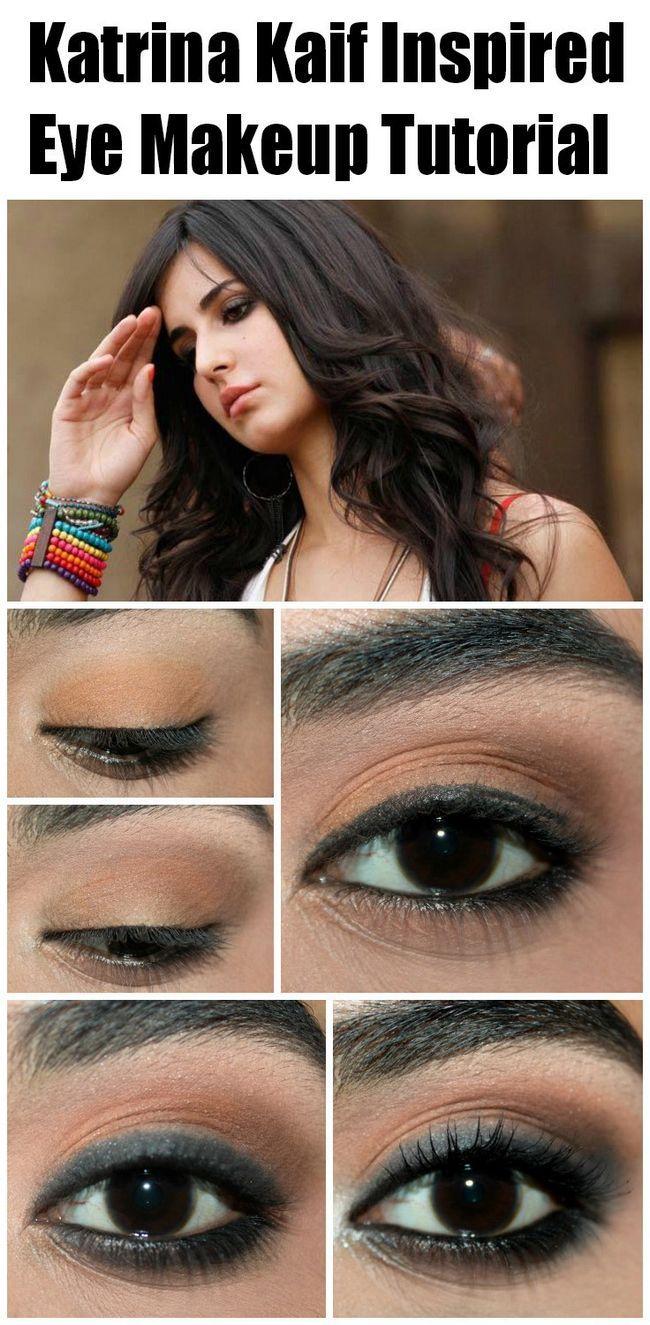 Katrina kaif tutoriel maquillage des yeux inspiré - avec des étapes détaillées et photos