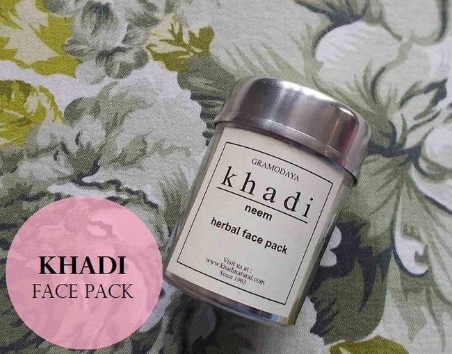 Khadi neem pack visage à base de plantes: examen, comment utiliser, le prix