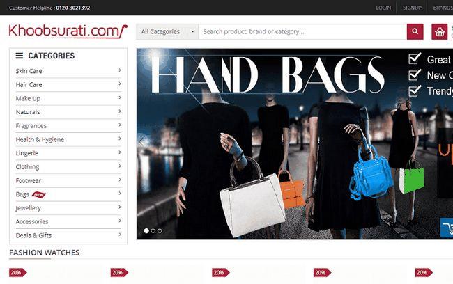 Khoobsurati.com - magasin de shopping en ligne pour la beauté, la santé et la mode