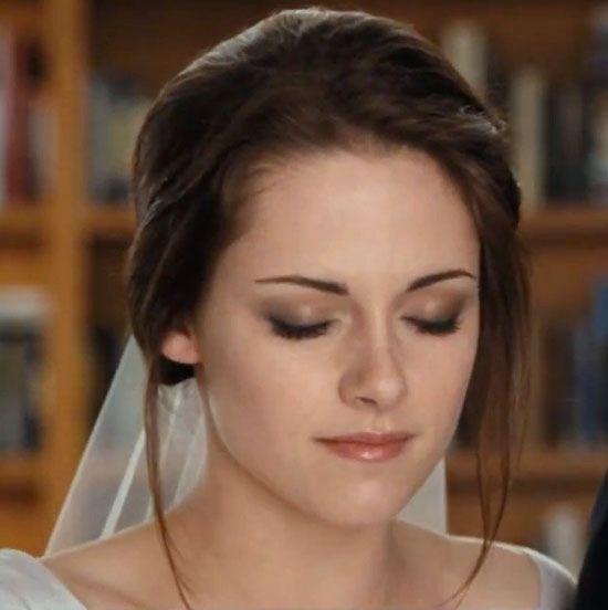 Maquillage de mariée de Kristen stewart à briser l`aube (partie 1)
