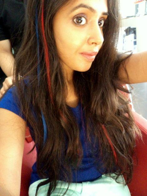 Extensions de cheveux de couleur lakme absolue en trois couleurs - mon expérience