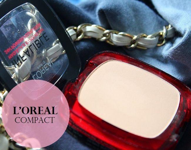 L`Oréal Paris infaillible 24h reno fond de teint poudre: examen, nuanciers
