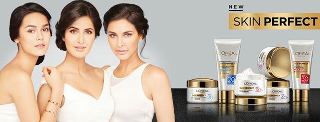 L`peau parfaite oreal gamme de soins d`experts pour l`âge 20+, 30+, 40+: prix, produits