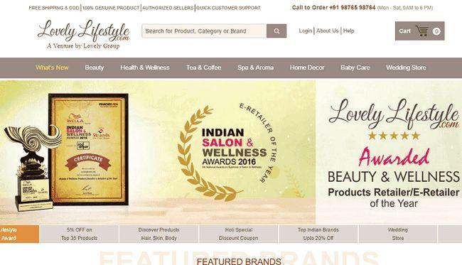 Mode de vie belle: beauté boutique et produits de bien-être en Inde