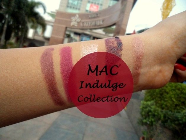 Collection Mac indulge: nuanciers rouges à lèvres