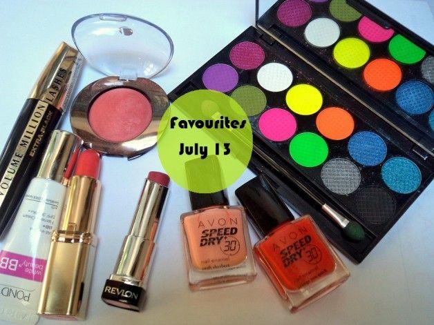 Maquillage et de beauté favoris - juillet 2013
