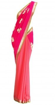 Maquillage pour compléter un sari rose corail pour un mariage: requête de lecture