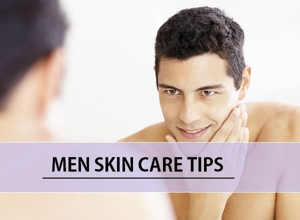 Hommes conseils de soins de la peau: comment prendre soin de la peau