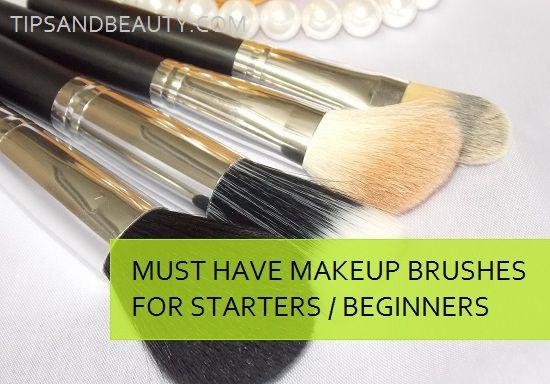 Doit avoir pinceaux de maquillage pour les débutants dans les kits de maquillage