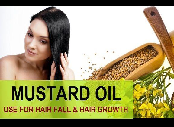 L`huile de moutarde pour la perte de cheveux, les cheveux et les cheveux gris
