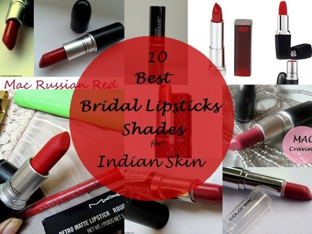 Mes 10 meilleures teintes de rouge à lèvres pour le maquillage de mariée indienne