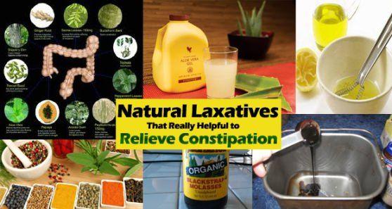 Laxatifs naturels pour soulager la constipation