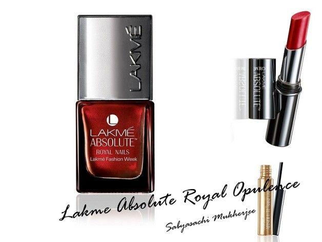 Nouvelle collection lakme opulence royale absolue Sabyasachi: produits, prix