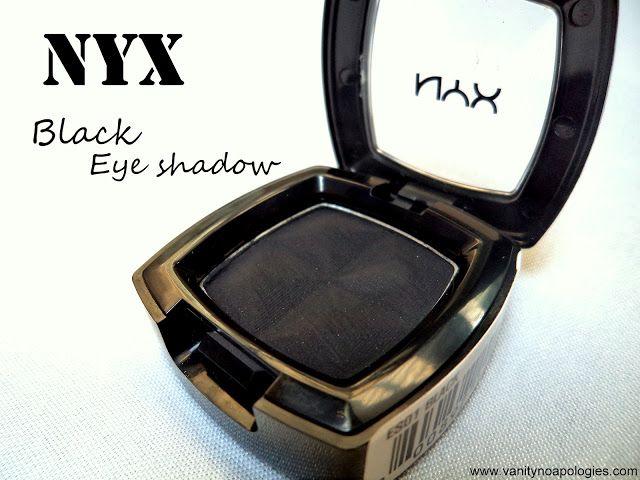 Seule ombre à paupières Nyx examen noir, nuanciers - les 5 façons dont vous pouvez l`utiliser