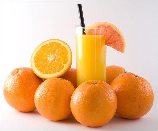 Régime de jus d`orange pour la perte de poids