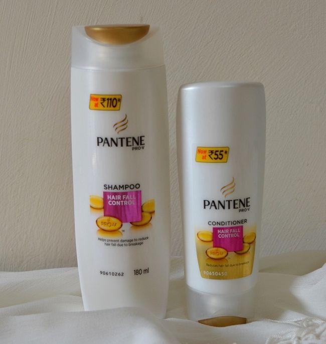 Pantene shampooing contrôle chute des cheveux pro-v, conditionneur: examen, prix