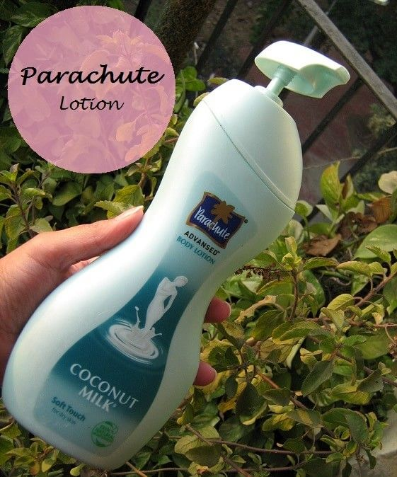 Lotion pour le corps toucher doux parachute Advansed pour le lait de coco de la peau sèche: examen et prix