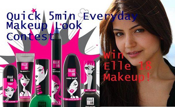 Participez et gagnez 18 goodies Elle maquillage: fête cadeau!