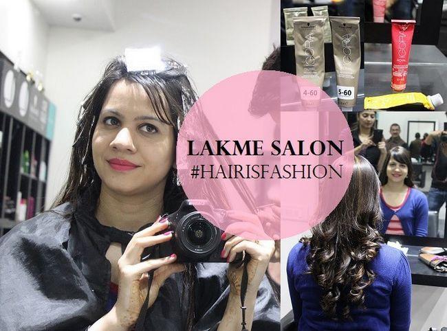 Revue: la couleur des cheveux de salon lakme avec des reflets dorés