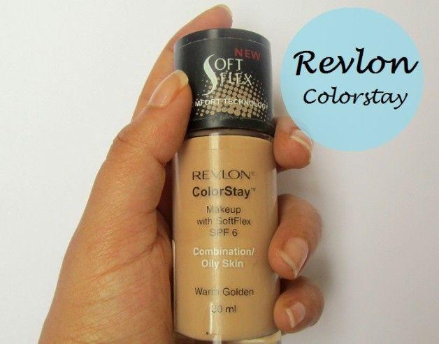 Revlon maquillage ColorStay fond de teint liquide pour la combinaison / peau grasse: examen et nuanciers