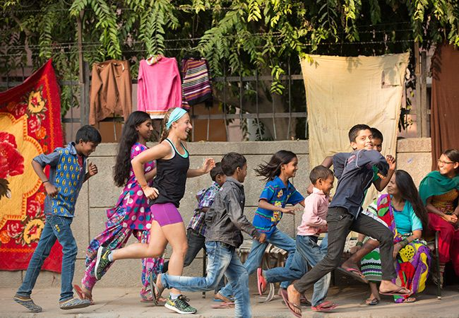 Samantha Gash plans course record en Inde