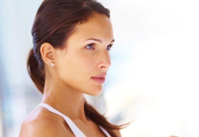 Problème de la peau: la perte d`humidité
