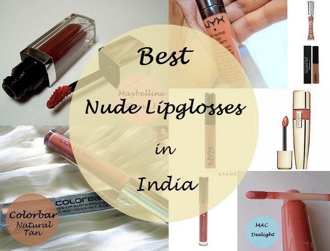 Les 10 meilleures lipglosses nues pour les carnations indien: passable / moyen / noir
