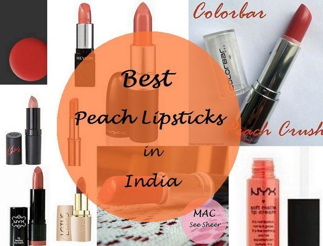 Les 10 meilleurs rouges à lèvres de pêche pour la peau indienne