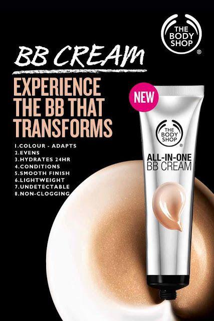 The Body Shop lance la crème bb pour les tons de peau plus foncée!