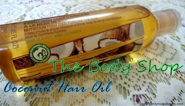 La boutique du corps forêt tropicale revue de l`huile de noix de coco cheveux