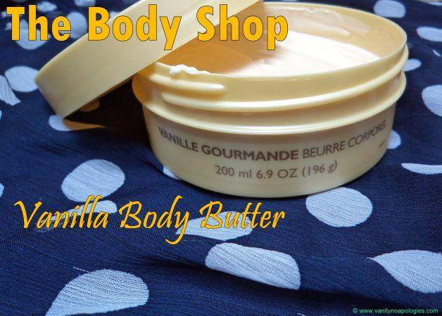 La boutique de corps revue de beurre corporel de bonheur à la vanille