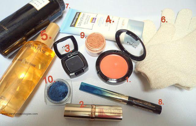 Les produits de beauté les plus utilisés? - avril et mai 2012