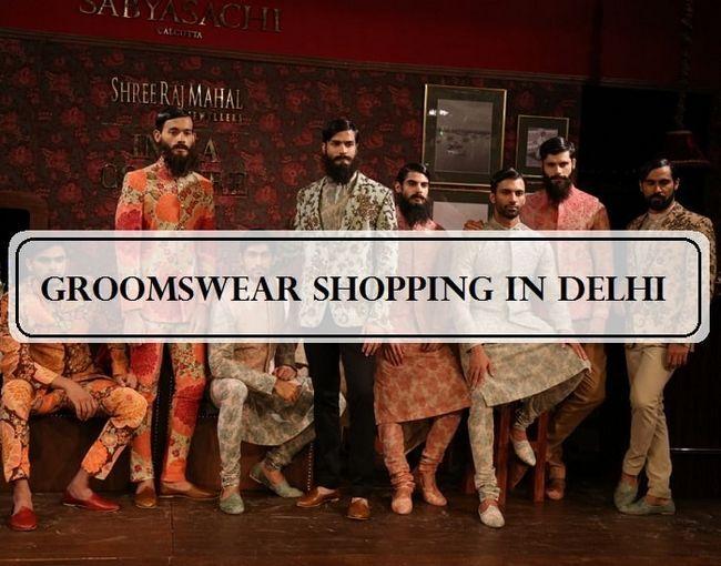 Top 10 boutiques de vêtements de marié et boutiques delhi