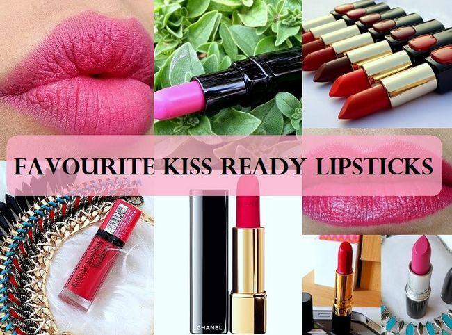 Top 10 des rouges à lèvres preuve baiser en Inde: marques, nuances
